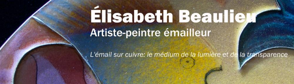 Élisabeth Beaulieu, artiste peintre émailleur